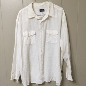 Patagonia Men's XL Organic Cotton Button Down Top